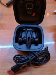 Power beats fone Bluetooth preto