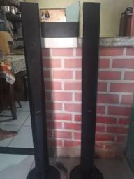 Caixas completas de Home system ,250 reais mais negocio.