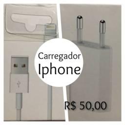 Carregador Iphone com Conector.