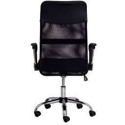Cadeira de Escritório Presidente giratória tela mesh