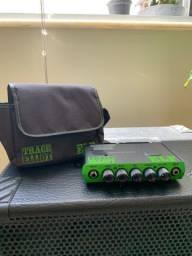 Amplificador de baixo Trace Elliot ELF 200w + caixa teksound 2x10