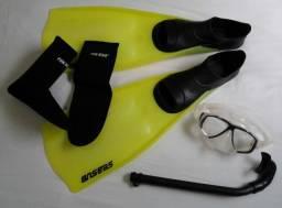 Nadadeiras Seasub / Kit mergulho