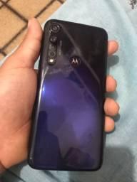 Moto g8 plus super novo 64 GB biometria desbloqueio fácial