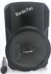 Caixa De Som Ecopower Ep-1920 Sd / Usb / Bluetooth - Novo