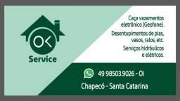 Serviço hidráulico e elétrico residencial