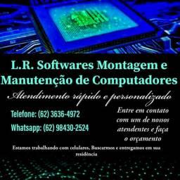 L.R. Softwares Montagem e Manutenção de Computadores e Celulares.