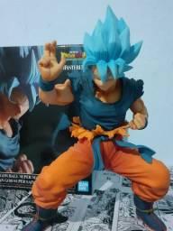 Goku Super Sayajin God Blue Original com Selo Toei - Dragon Ball Super