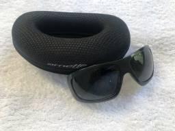 Óculos de sol masculino Arnette lente polarizada com estojo
