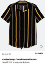 Camisa tamanho M nova