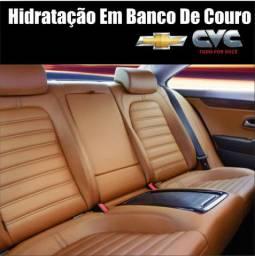 Hidratação Em Banco De Couro CVC - Serra