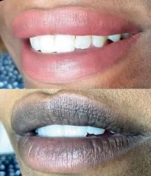 Micropigmentação labial + Retoque