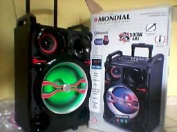 Caixa Amplificada da Mondial 500wRMS de potencia