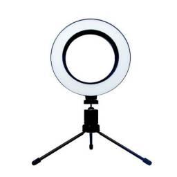 Luz Iluminador Ring Light 6 Polegadas 36 Led Usb Misto Mesa LED16CM