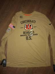 Camiseta NFL Salute to Service Cincinatti Bengals Original e Exclusiva