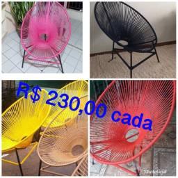 Cadeiras acapulco mega promoção