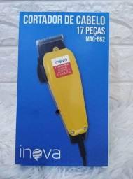 Maquina Cortar Cabelo Barba Pezinho Pelo Maq 662 Inova