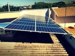 Energia Solar Gerador Fotovoltaico Redução de até 95% na conta de luz!