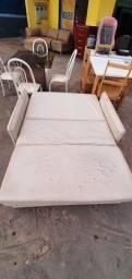 Sofa cama corino usado - ENTREGO