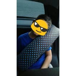 Almofadas de cinto de segurança e protetor de cabeça infantil, p/ cadeirinha
