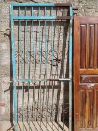 Portas e grades