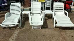 Espreguiçadeira e cadeira de bronze no melhor preço