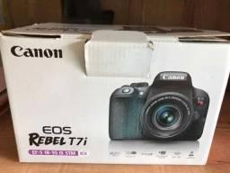 Canon T7i na caixa - Original - Com Garantia