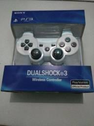 Controle de PS3 branco