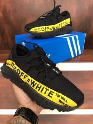 Tênis Adidas Off White $160,00