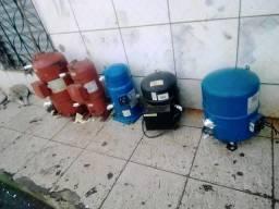 Compressores para câmara frigorífica diversas marcas