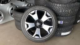 Rodas Hilux diamond 22? + pneus Bridgestone dueler H/L 285/45/22