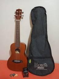 Ukulele Tagima 23k + Kit Capa Miyata Music, 1 afinador e 3 palhetas