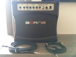 Amplificador de Violão + Cabos