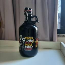 Garrafão growler para cerveja ou chopp 2l