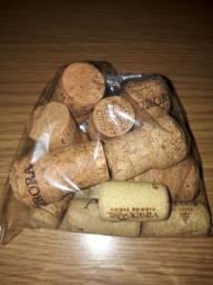 Rolha de garrafa de vinho - 124 unidades
