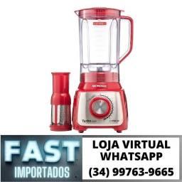 Título do anúncio: Liquidificador Turbo Mondial 1100w c/ Filtro 12 Velocidades * Novo