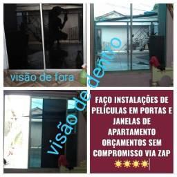 Película em apartamento e casas