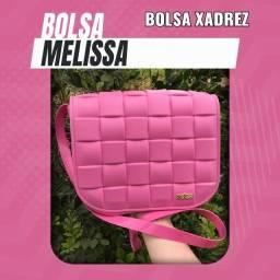 Bolsa (Leia a Descrição) Bolsa Melissa Xadrez Nova Várias Cores