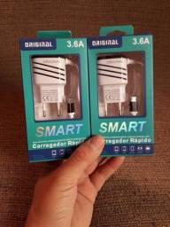 CARREGADOR DE CELULAR MICRO USB/V8 /