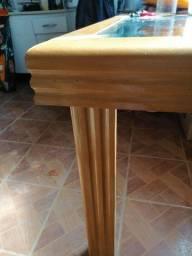 Torro mesa maciça de madeira com 6 cadeiras.!