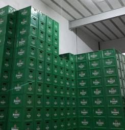 Vendo 500 caixas Heineken completas com casco