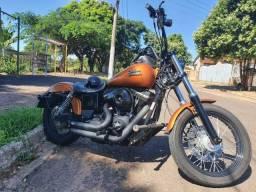 Harley Davidson Dyna Street Bob 1600 cc Ano 2015