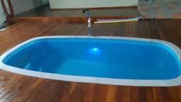 Título do anúncio: TA - Piscina de fibra 4 metros - Fábrica de piscinas 30 anos