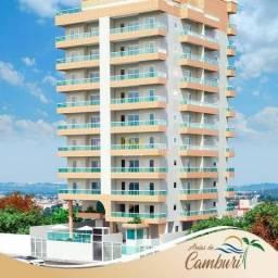 Apartamento com 2 dormitórios à venda, 63 m² por R$ 250.000 - Caiçara - Praia Grande/SP