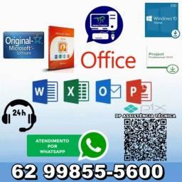 Instalação Office 2019 Pro Plus 32 ou 64 Bits Permanente