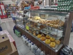 Montagem de padaria,ilha estufa