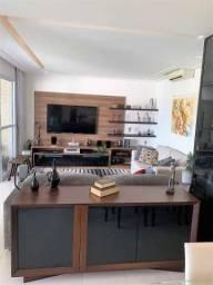 Apartamento com 3 dormitórios para alugar, 158 m² por R$ 6.000/mês - Praia da Enseada - Gu