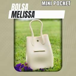 Bolsa (Leia a Descrição) Bolsa Melissa Pocket Nova Várias Cores