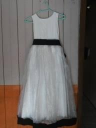 Vestido Branco Para Criança