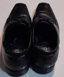 Sapato Democrata Couro Preto nr 42