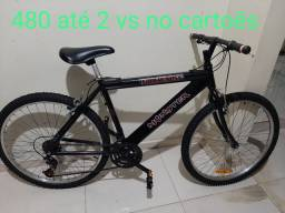Bicicleta aro 26 com marcha top